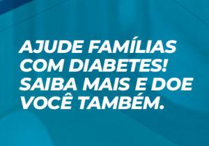 Ninguém escolheu ter diabetes, mas você pode escolher ajudar