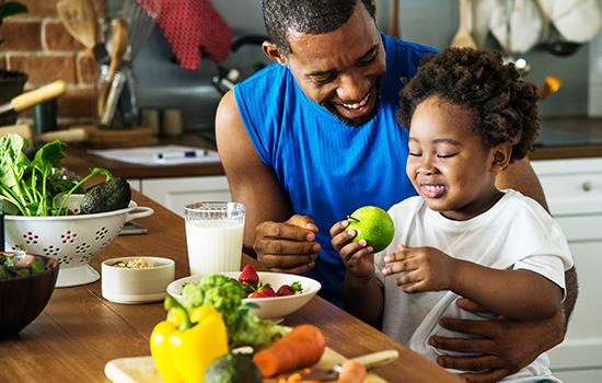 Alimentação das crianças com diabetes durante o isolamento social