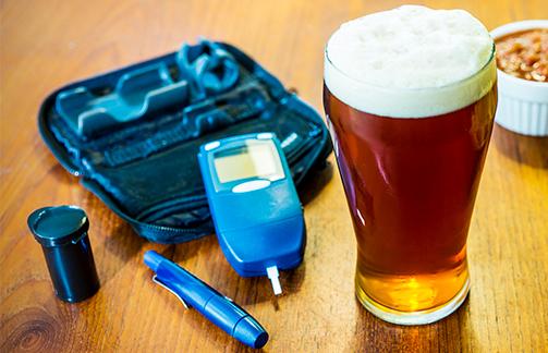 Bebida Alcoólica e Diabetes