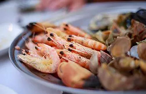 Salpicão de frutos do mar