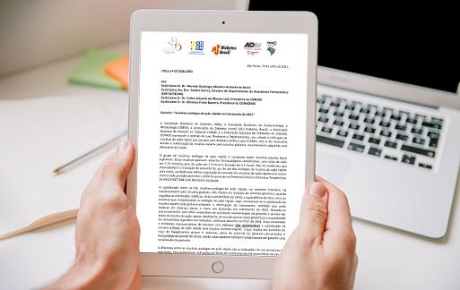 Ofício nº 07/2021/SBD – Insulinas análogas de ação rápida no tratamento do DM1